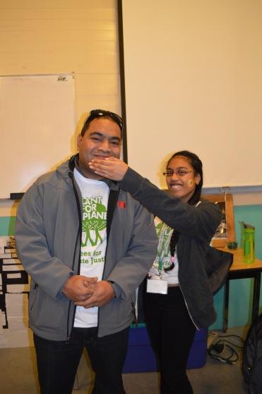 Marshallese Community Leader David Anitok and Ambassador Miko Vergun's Stop Talking Start Planting