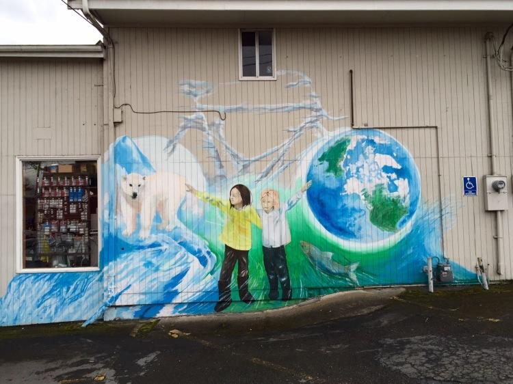 Eugene Climate Mural