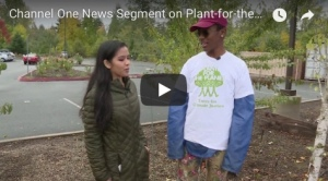 Channel One News Segment on Plant-for-the-Planet